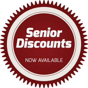 We Offer Senior Discounts!